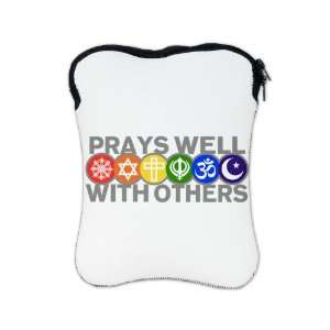 Sided Prays Well With Others Hindu Jewish Christian Peace Symbol Sign