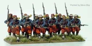 28mm American Civil War Zouaves (42) NEW