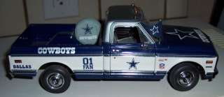 DALLAS COWBOYS DIE CAST PICK UP TRUCK