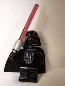 LEGO STAR WARS DARTH VADER MINIFIGURE WITH LIGHT UP LIGHT SABER