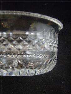 Elegant  CRYSTAL Glass Flower Design BOWL