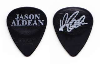 Jason Aldean Signature Black Tour Guitar Pick