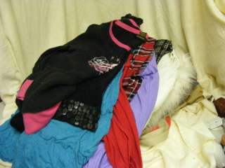 Huge Lot Of Girls Clothes Coat Dresses Skirts Tops Size 7 & 8 Good