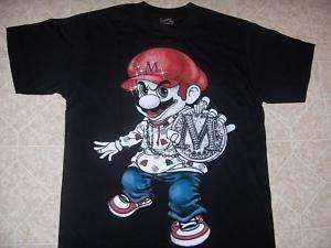 Super Mario Bro. super nintendo wii t shirt 3XL