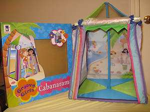 GROOVY GIRLS Cabanarama Cabana   BRAND NEW IN BOX   Nice Gift (SHIPS
