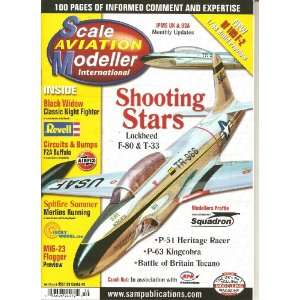 scale aviation modeller magazine (shooting stars lockheed