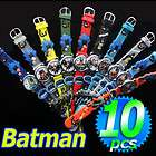 Batman Bat Man Cartoon Children Kid Soft PVC 3D Wrist Watch WristWatch