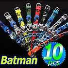 Batman Bat Man Cartoon Children Kid Soft PVC 3D Wrist Watch WristWatch