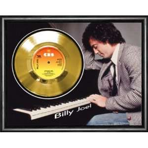 Billy Joel Uptown Girl Framed Gold Record A3