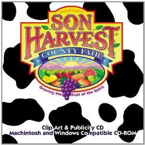 Sonharvest Clip Art with CDROM (9780830731183) Books