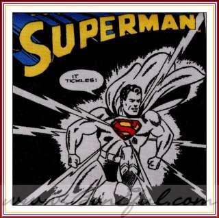 VTG Retro Boy Boutique Super HERO Marvel Comic Book *Strip Superman