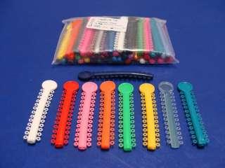 Dental Elastic Orthodontic Assorted Color Pack/1040 Ligature ELN001