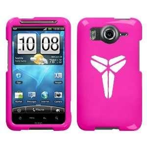 HTC INSPIRE 4G WHITE MAMBA KOBE LOGO ON A PINK HARD CASE