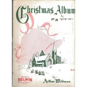 Christmas Album for Baldwin Organs (All Models) Arthur