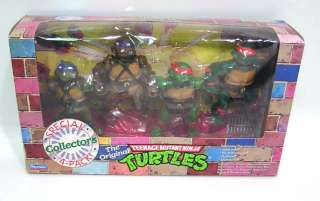 Playmates TEENAGE MUTANT NINJA TURTLES / RARE 1992 Special Collectors