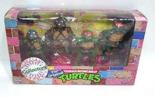 Playmates TEENAGE MUTANT NINJA TURTLES / RARE 1992 Special Collectors