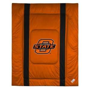 State Cowboys Sideline Comforter   Full/Queen Bed Sports & Outdoors