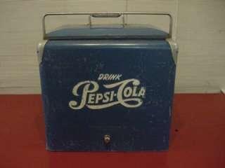 Vintage Pepsi Cooler 1950s