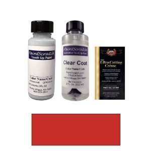Oz. Classic Red Paint Bottle Kit for 1990 Volvo 744 (601) Automotive