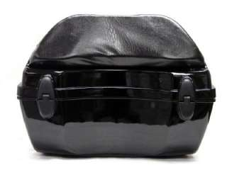 HARD SCOOTER MOTORCYCLE LUGGAGE TRUNK TOP CASE STORAGE BOX BLACK