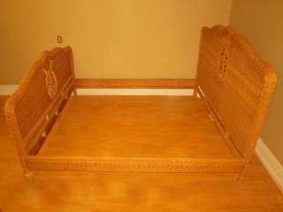 RALPH LAUREN Furniture Designer Rattan Wicker King Size Bed