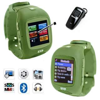 Unlocked Micro Touch Screen Camera  GSM Watch Cell Phone [aT&T