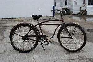Arnold Schwinn The World Cruiser Bicycle Bike new departure 24 Wheel
