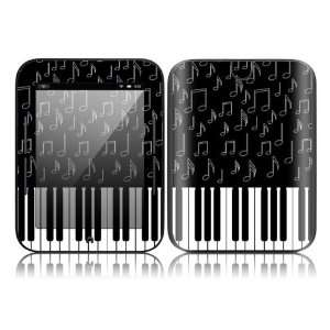 I Love Piano Design Decorative Skin Cover Decal Sticker