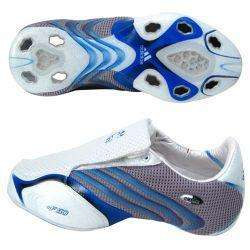+F50.6 Tunit Upper White and Blue Mens Soccer Shoes