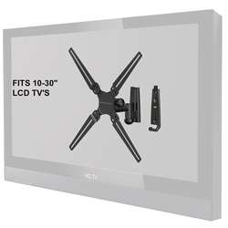 Level Mount Full Motion Single Arm 10 to 30 inch TV Mount