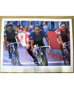 Greg Lemond 1989 World Championship Poster
