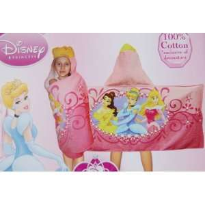 Disney Princess Belle, Cinderella, Sleeping Beauty Hooded