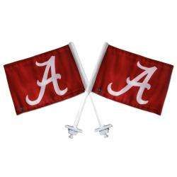 Alabama Crimson Tide Truck Flags (Set of 2)