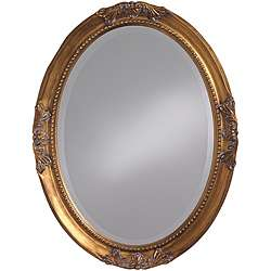 Lizzie Antique Gold Leaf Mirror