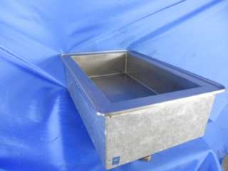 ATLAS METAL DROP IN COLD BIN ICE BIN DRAIN STAINLESS STEEL BUFFET