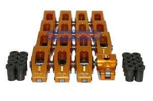 Chevy Small Block 1.6 Ratio 3/8 Roller Rocker Arms SBC/ PC2306