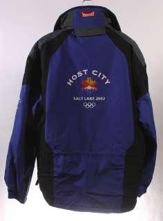 MENS SALT LAKE CITY 2002 HOST CITY WINTER OLYMPICS COAT/JACKET sz M