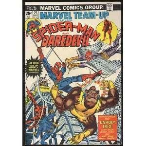 Marvel Team Up, v1 #25. Sep 1974 [Comic Book] Marvel