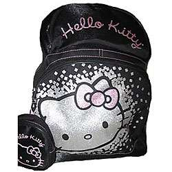 Hello Kitty Large School Backpack with Pouch