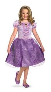 DISNEY GIRLS MOVIE RAPUNZEL TANGLED CLASSIC TODDLER CHILD COSTUME