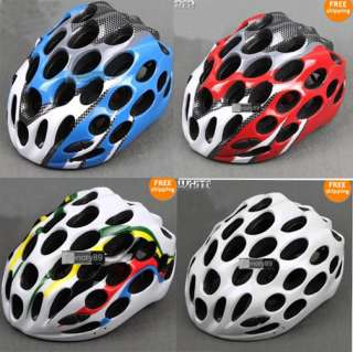2012 NEW CYCLING BICYCLE HERO BIKE HELMET White with Visor Four