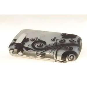 Blackberry Torch 9800 Hard Case Cover for Black Vines