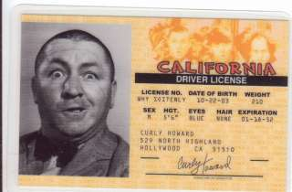 Pick Curly Howard of the Three Stooges Marilyn Monroe THE GODFATHER or