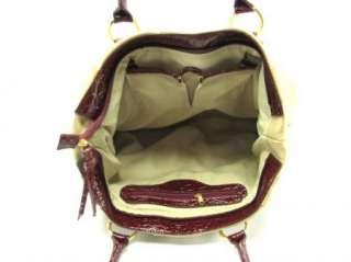 Large Black Pintuck Tote Faux Leather Purse Handbag Bag
