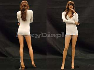 Fiberglass Mannequin Manequin Manikin Dress Form Display MD FR10