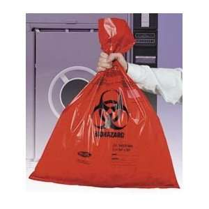 VWR Autoclavable Biohazard Bags, Double Thick   Model 14220 088   Case