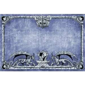 Dragon Shield Arcane Dragons Grey Playmat: Toys & Games