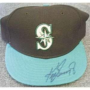 Ken Griffey, Jr. (Mariners) Autographed Baseball Cap