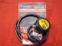 Tri Max Versa Cable Motorcycle Cable Lock