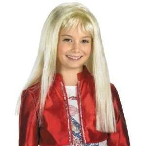 Blonde Officially Licensed Hannah Montana Costume Wig Toys & Games